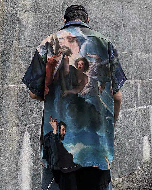 ミラクルザビエル半袖シャツの画像2